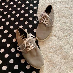 Men's DC gray sneakers size 9